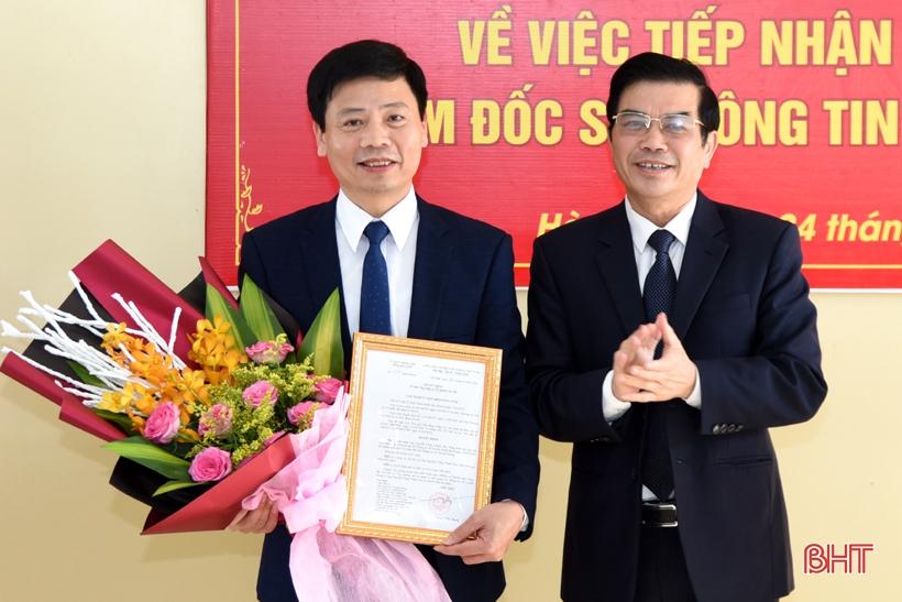 Phó Tổng Biên tập Báo Hà Tĩnh giữ chức Giám đốc Sở Thông tin & Truyền thông