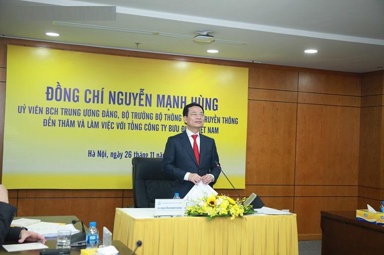 Bưu điện Việt Nam cần phải ứng dụng CNTT, lấy ICT làm nền tảng phát triển