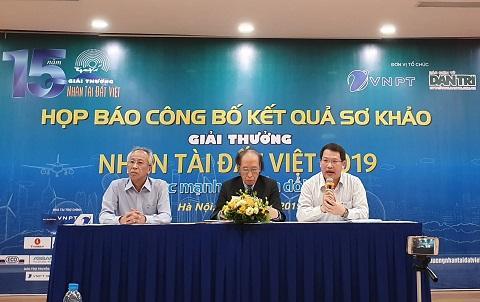 19 sản phẩm lĩnh vực CNTT vào Chung khảo Nhân tài Đất Việt 2019