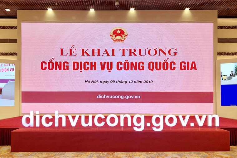 Sẵn sàng khai trương Cổng Dịch vụ công Quốc gia