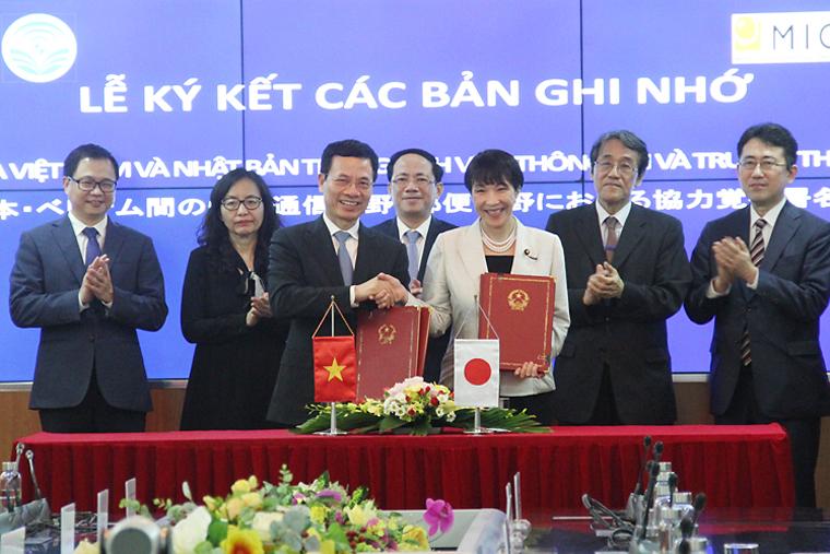 Bộ TT&TT Việt Nam bắt tay Bộ Nội vụ và Truyền thông Nhật Bản phát triển Hệ sinh thái 5G