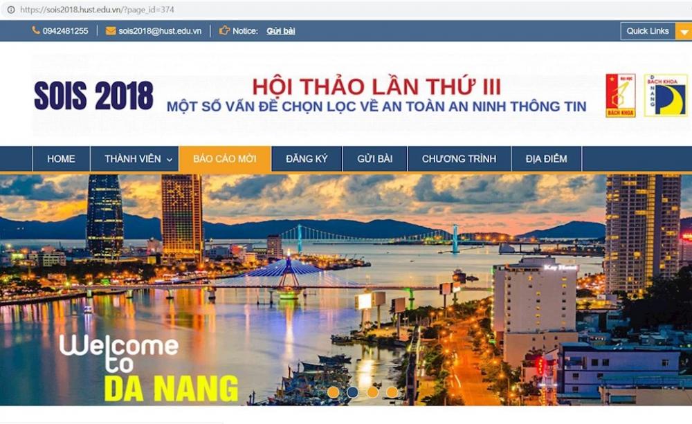Sắp diễn ra Diễn đàn khoa học lớn nhất về an toàn thông tin tại Việt Nam năm 2018