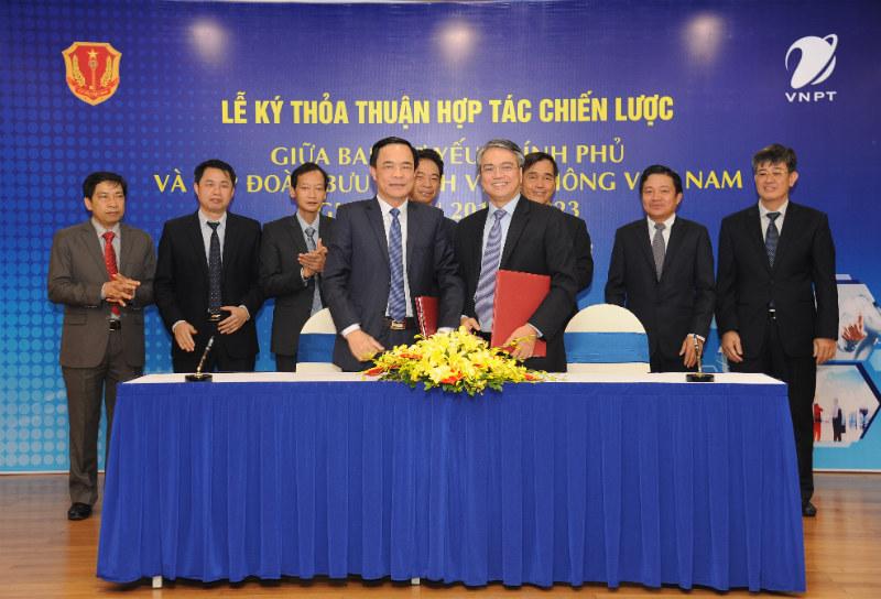 VNPT hợp tác phát triển các giải pháp CNTT bảo mật cao với Ban Cơ yếu Chính phủ