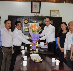 Lãnh đạo tỉnh chúc mừng Sở Thông tin và Truyền thông nhân Ngày Báo chí Cách mạng Việt Nam 21.6